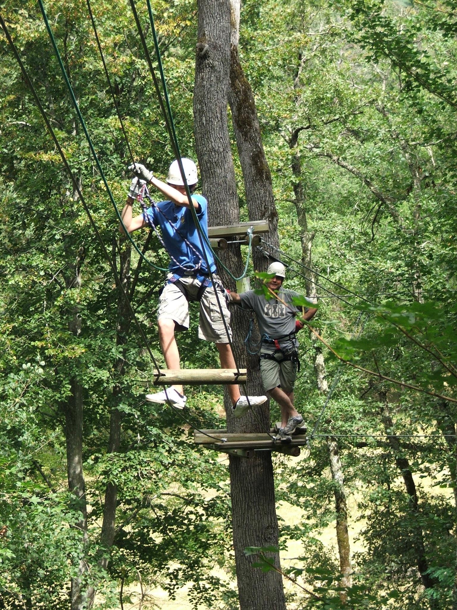 Aerial Climbing | Domaine du Pignoulet