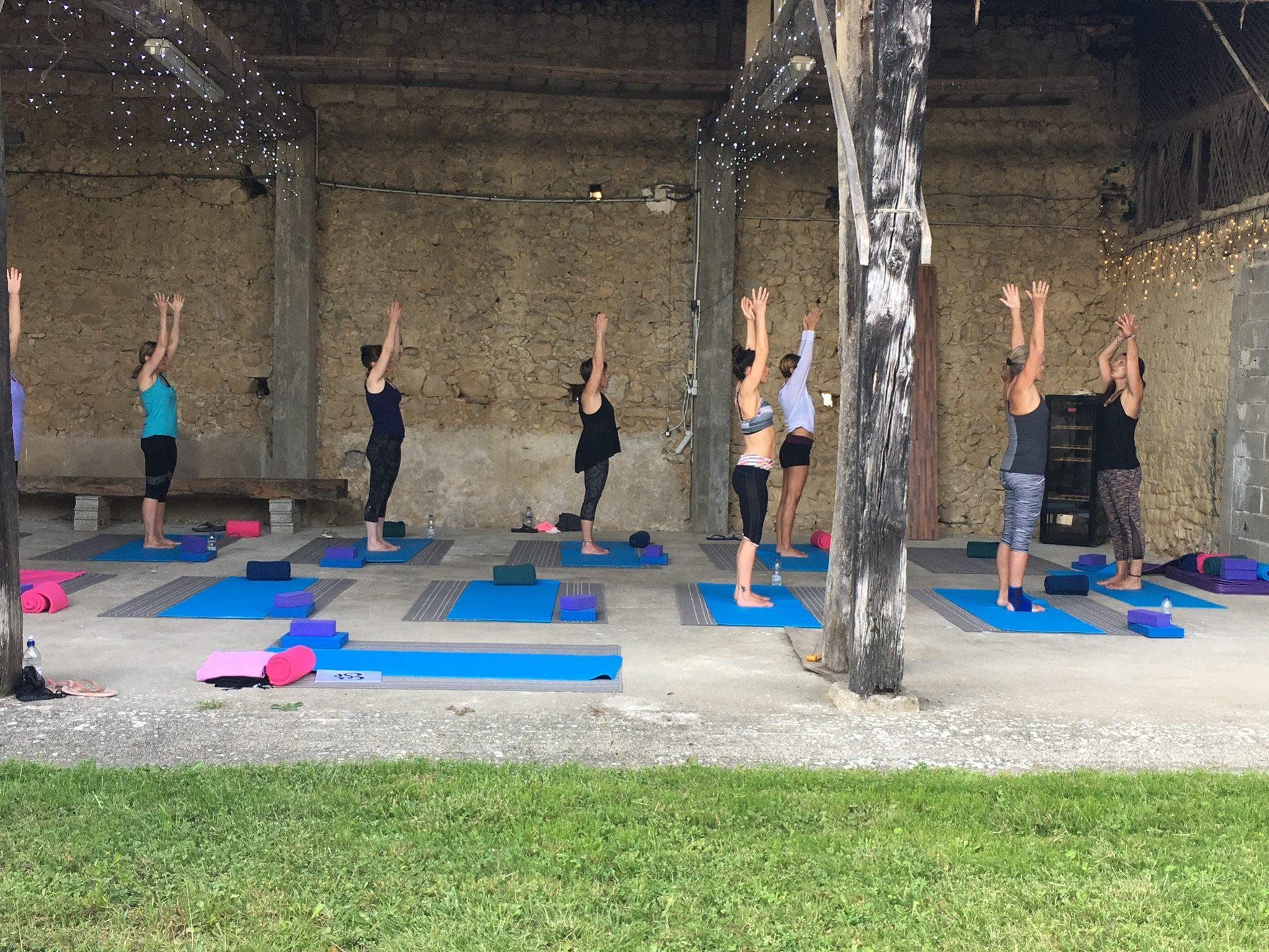 Yoga retreat | Domaine du Pignoulet