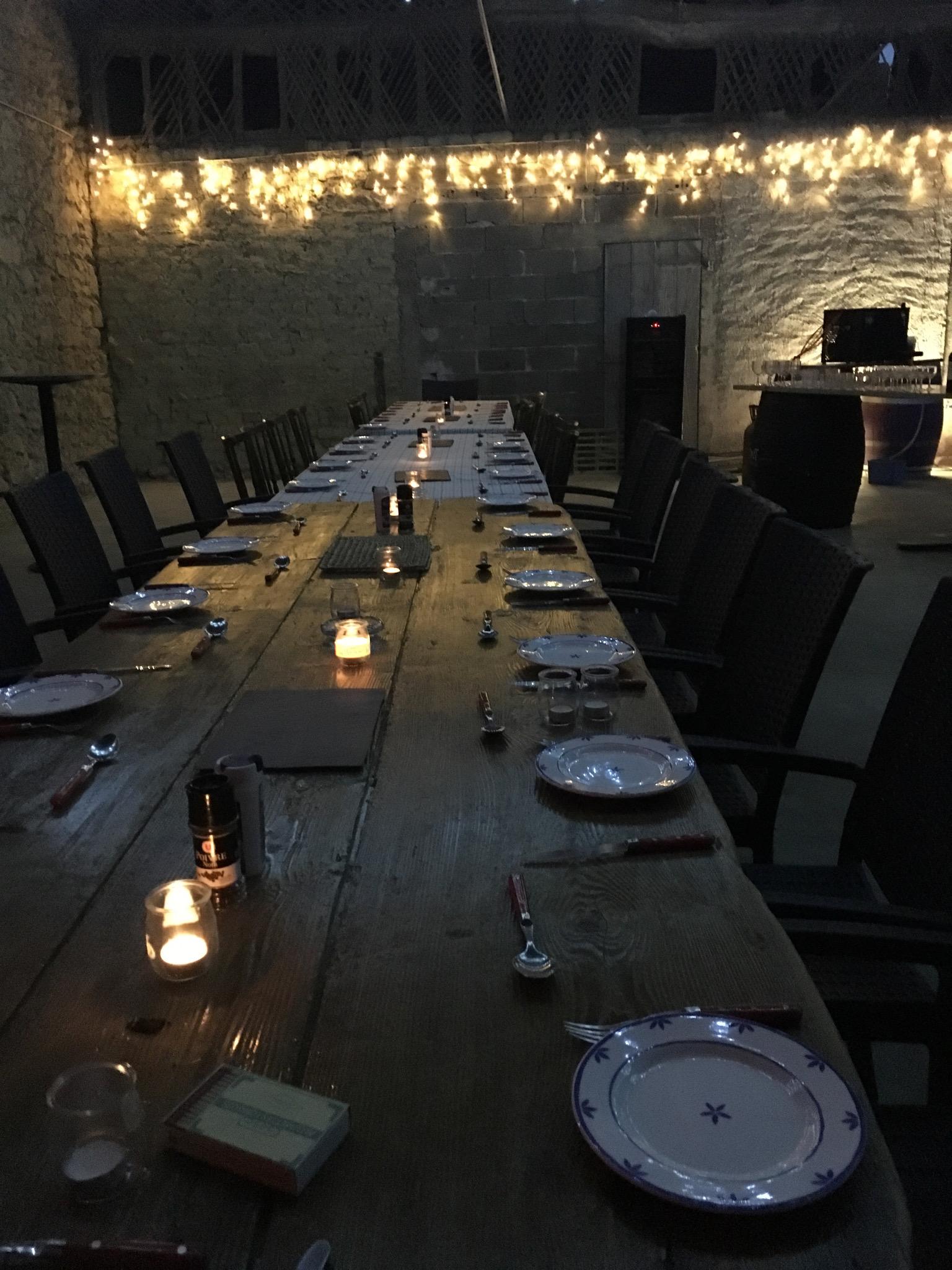 Barn Dining Room | Domaine du Pignoulet, Gascony, France