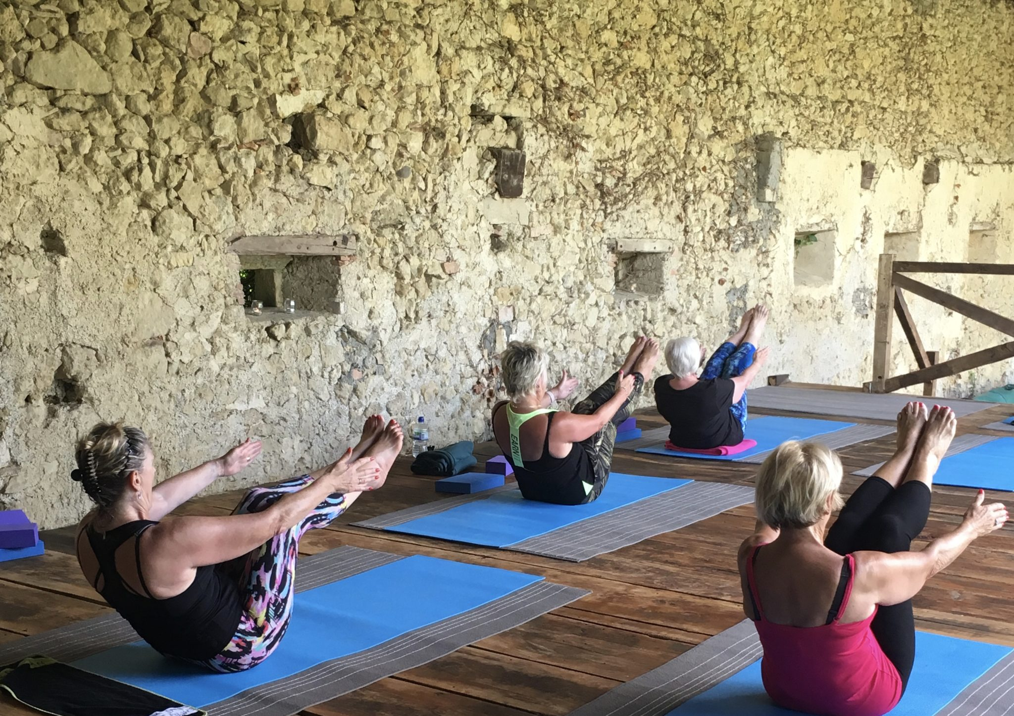 Pignoulet - yoga retreats and pilates retreats in the stunning French countryside.